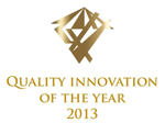 Quality innovation of the year 2013